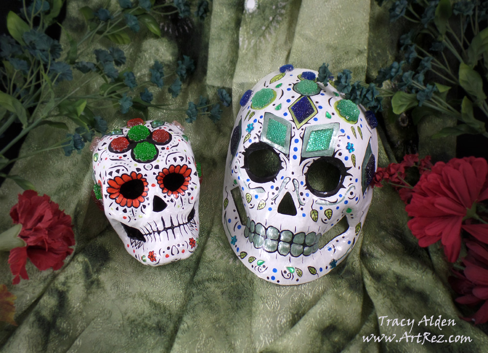 ArtResurrected-Day-of-the-Dead-Paper-Mask-Tracy-Alden-1