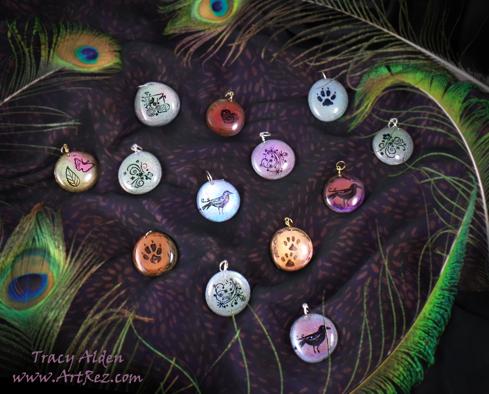 ArtResurrected-Resin-Remelt-Pendants-Tracy-Alden-1